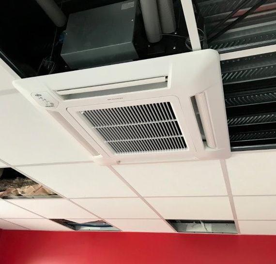 Pompe à chaleur AIR AIR ATLANTIC- Agence CGED Tours format carré